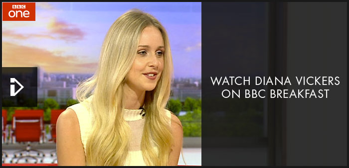 Diana Vickers on BBC Breakfast
